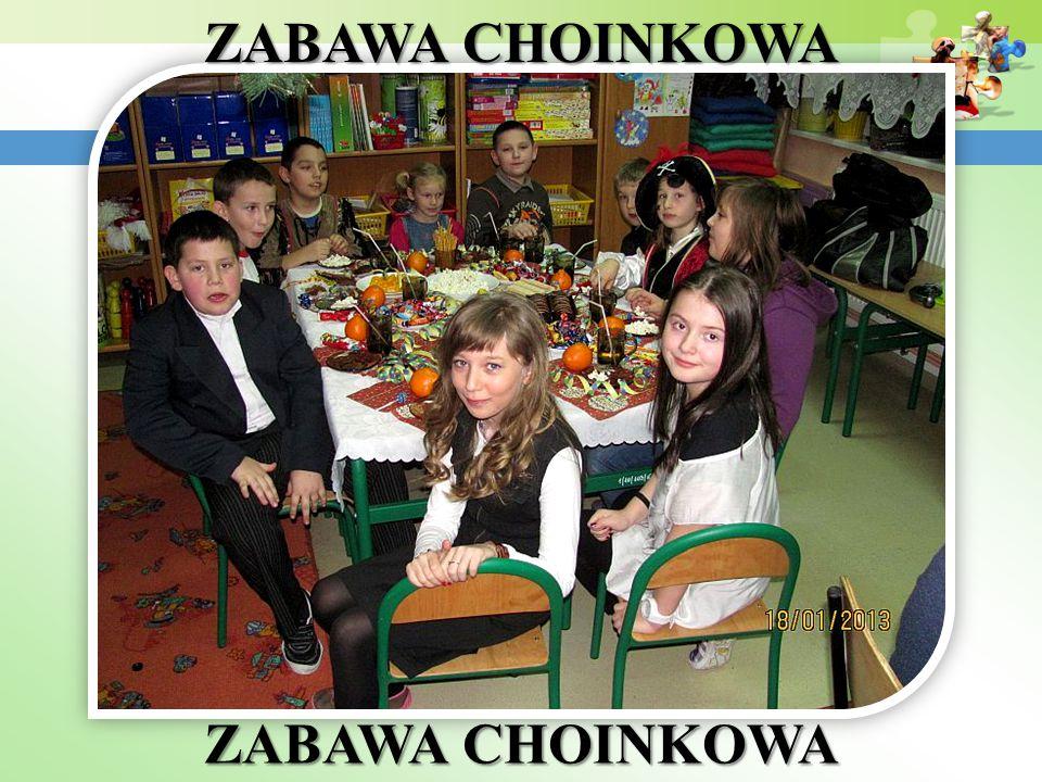 ZABAWA CHOINKOWA ZABAWA CHOINKOWA