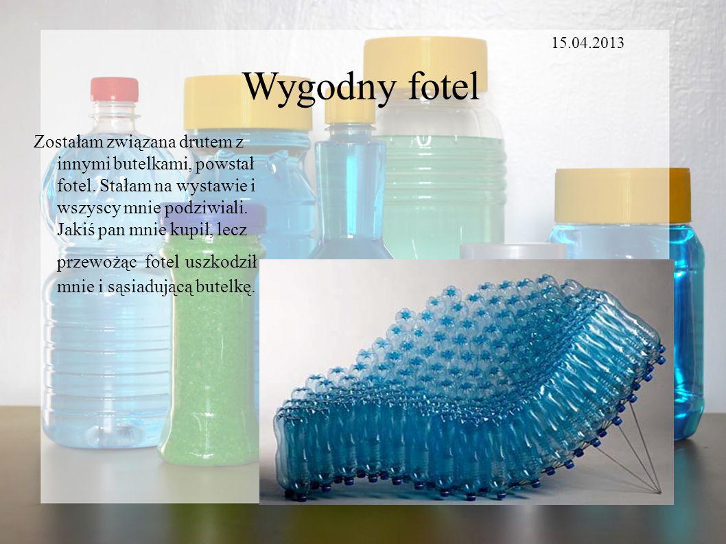 15.04.2013 Wygodny fotel.
