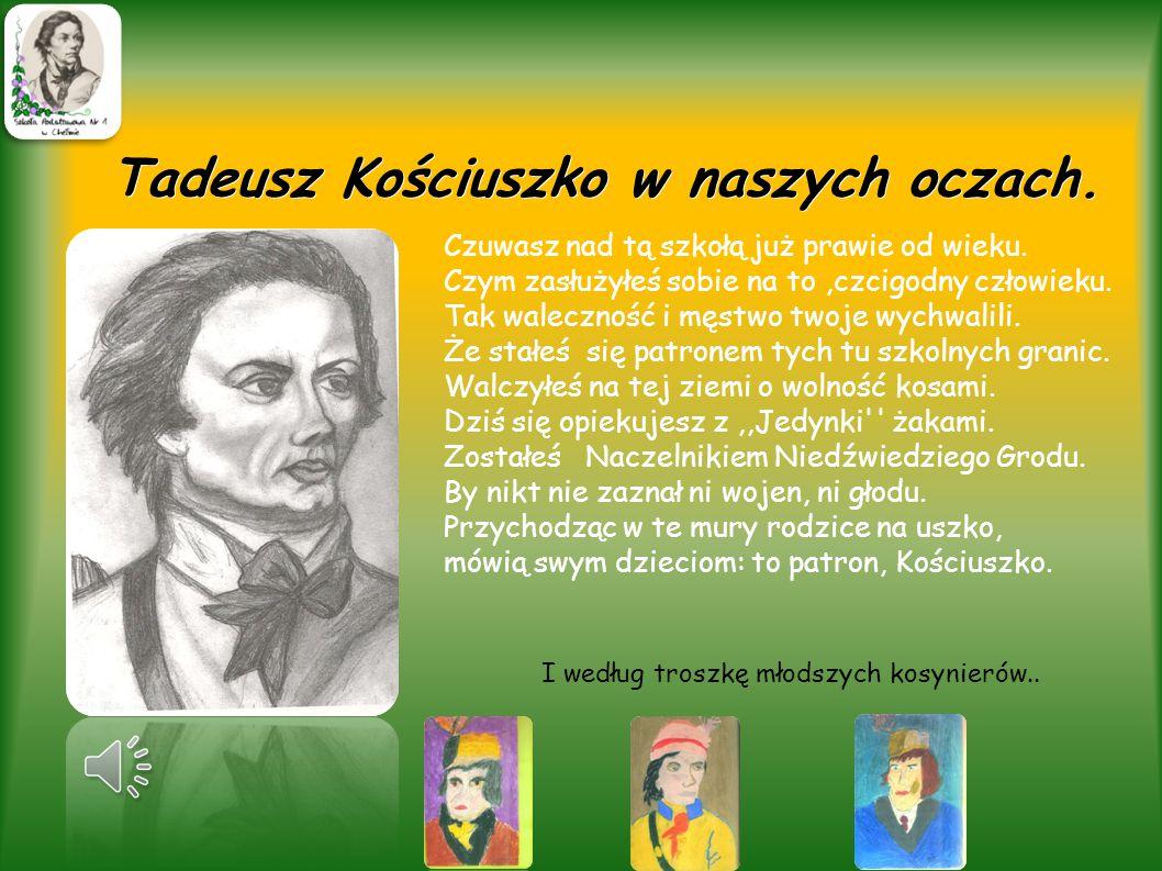 Tadeusz Kościuszko w naszych oczach.
