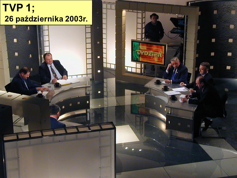 TVP 1; 26 października 2003r.