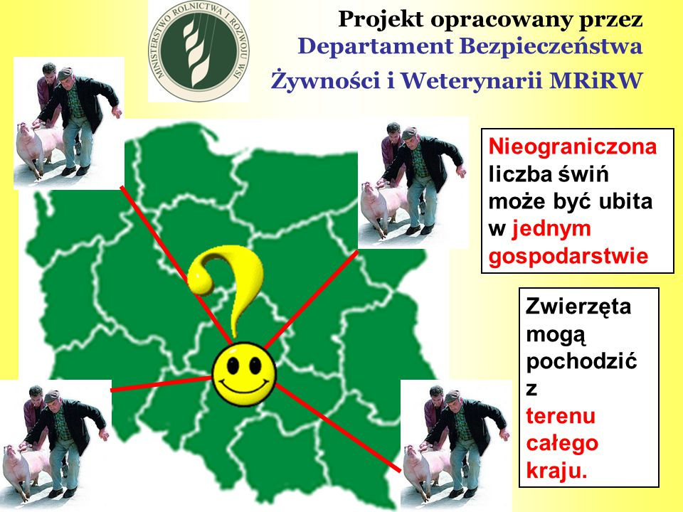 Projekt opracowany przez Departament Bezpieczeństwa Żywności i Weterynarii MRiRW