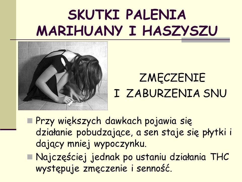 SKUTKI PALENIA MARIHUANY I HASZYSZU