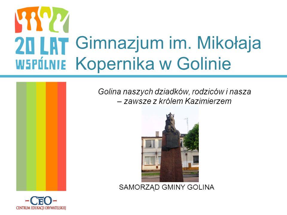 Gimnazjum im. Mikołaja Kopernika w Golinie