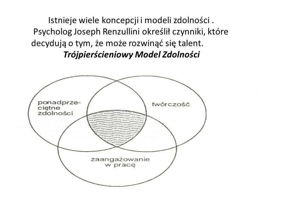 Istnieje wiele koncepcji i modeli zdolności .