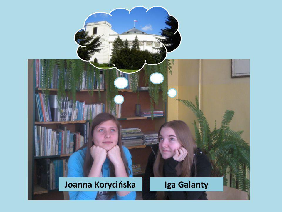 Joanna Korycińska Iga Galanty