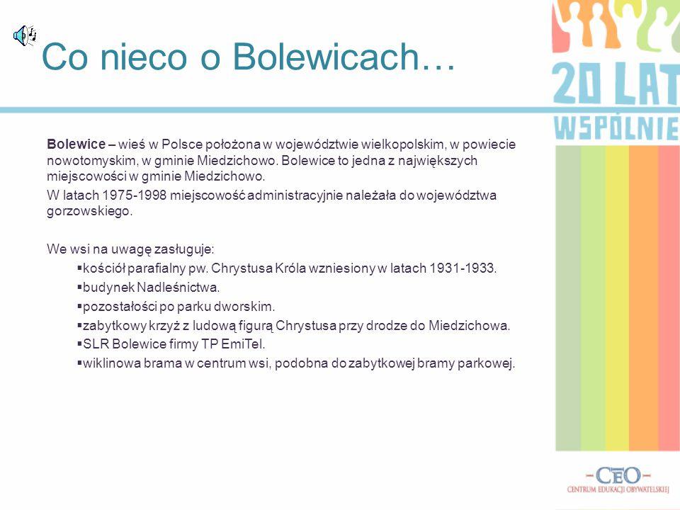 Co nieco o Bolewicach…