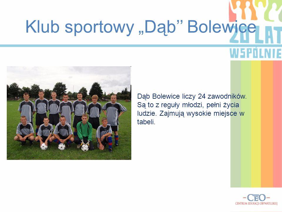 """Klub sportowy """"Dąb'' Bolewice"""