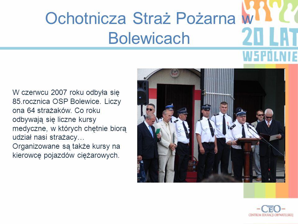 Ochotnicza Straż Pożarna w Bolewicach