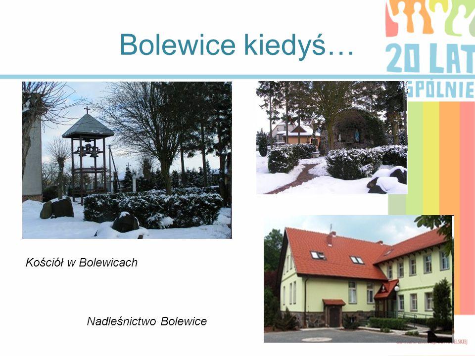 Bolewice kiedyś… Kościół w Bolewicach Nadleśnictwo Bolewice