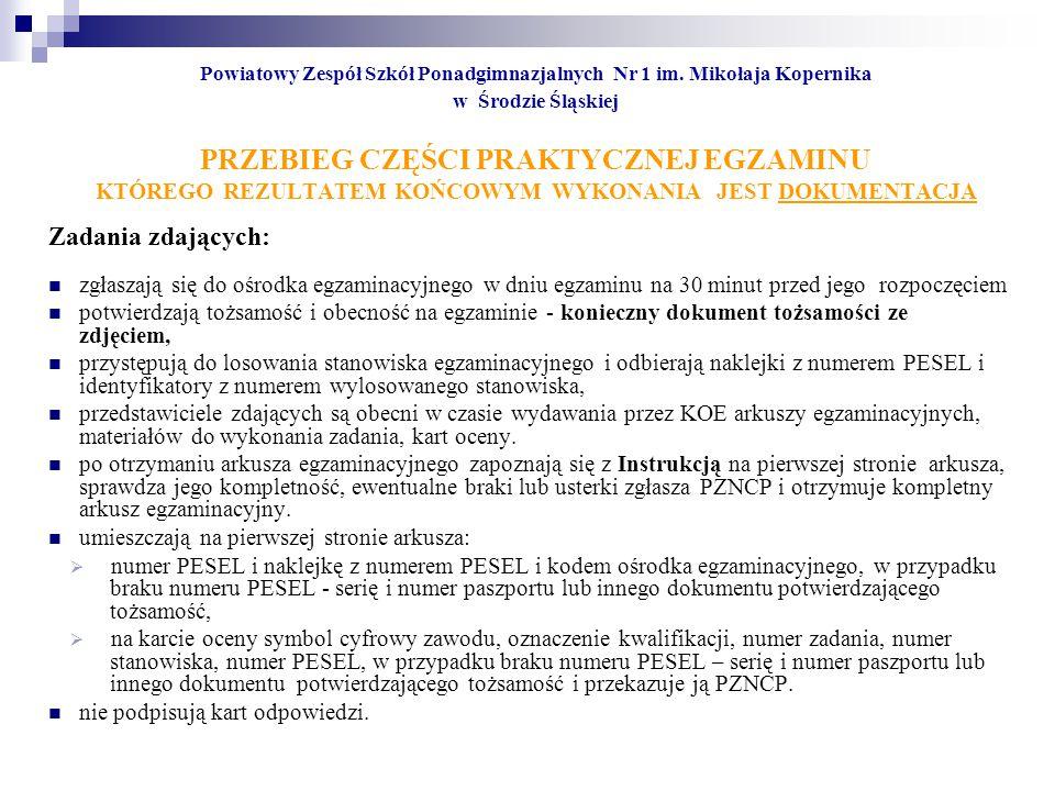 Powiatowy Zespół Szkół Ponadgimnazjalnych Nr 1 im