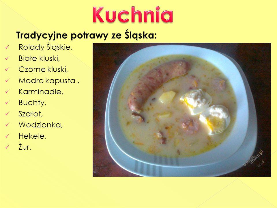 Kuchnia Tradycyjne potrawy ze Śląska: Rolady Śląskie, Białe kluski,