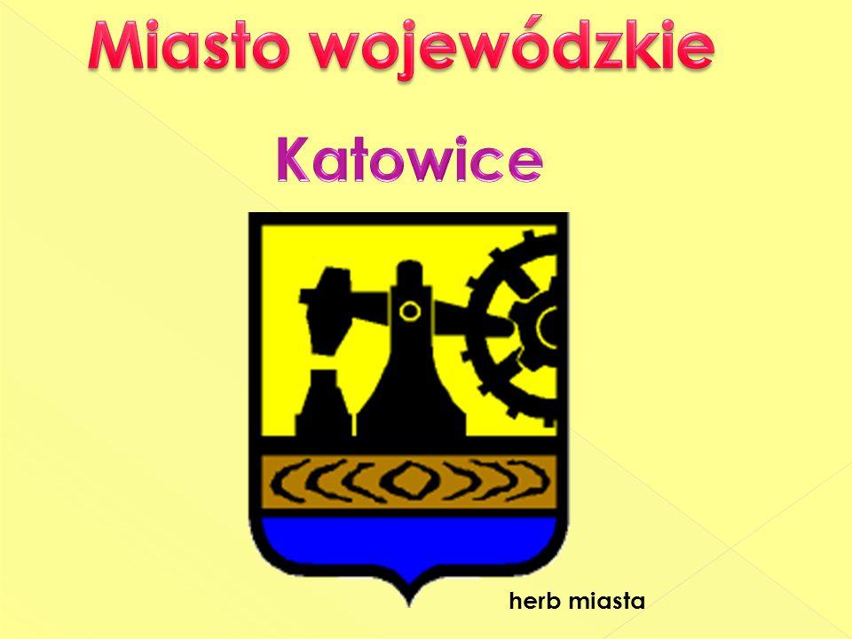 Miasto wojewódzkie Katowice herb miasta