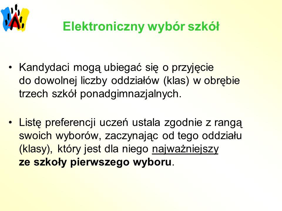 Elektroniczny wybór szkół