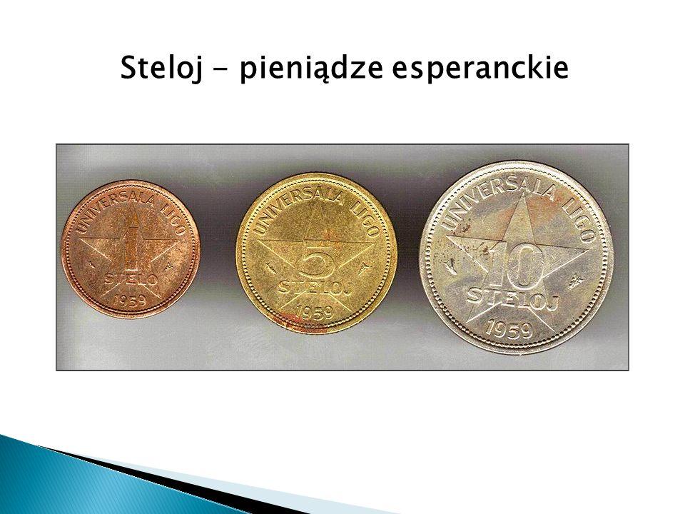 Steloj - pieniądze esperanckie