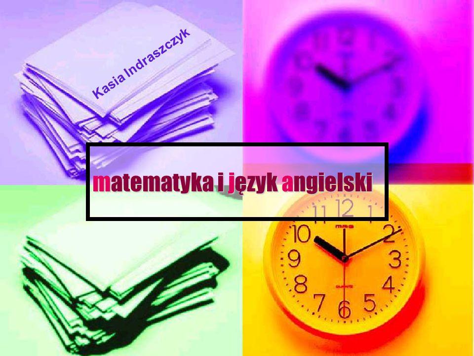 matematyka i język angielski