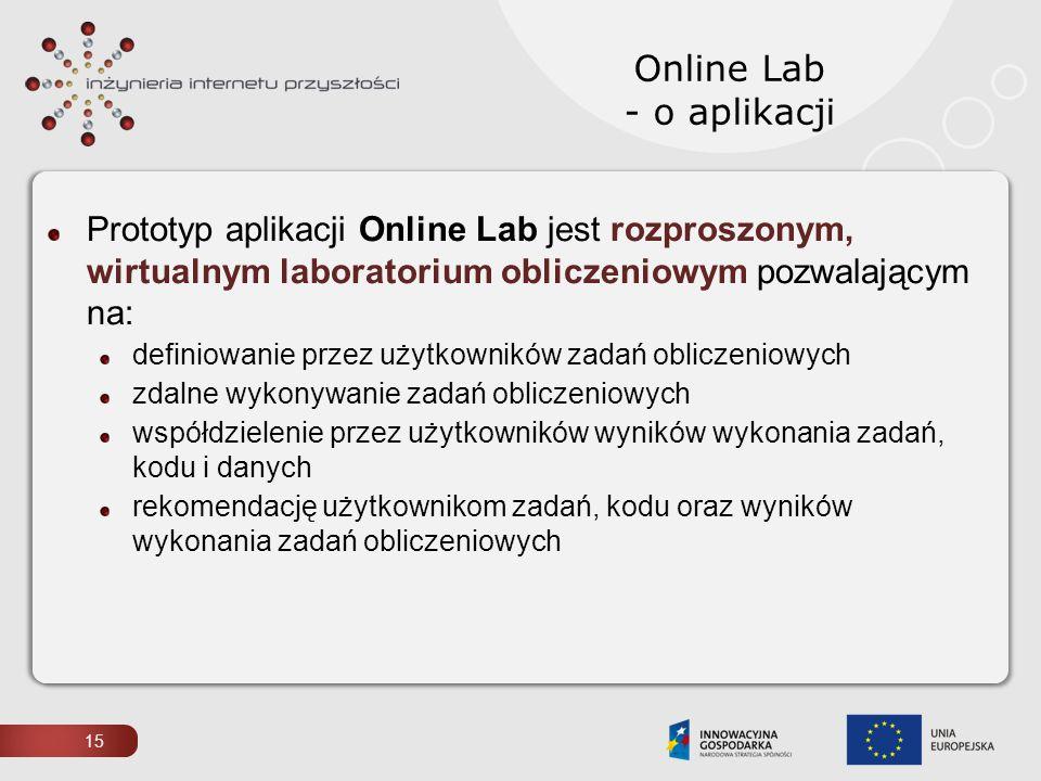 Online Lab - o aplikacji