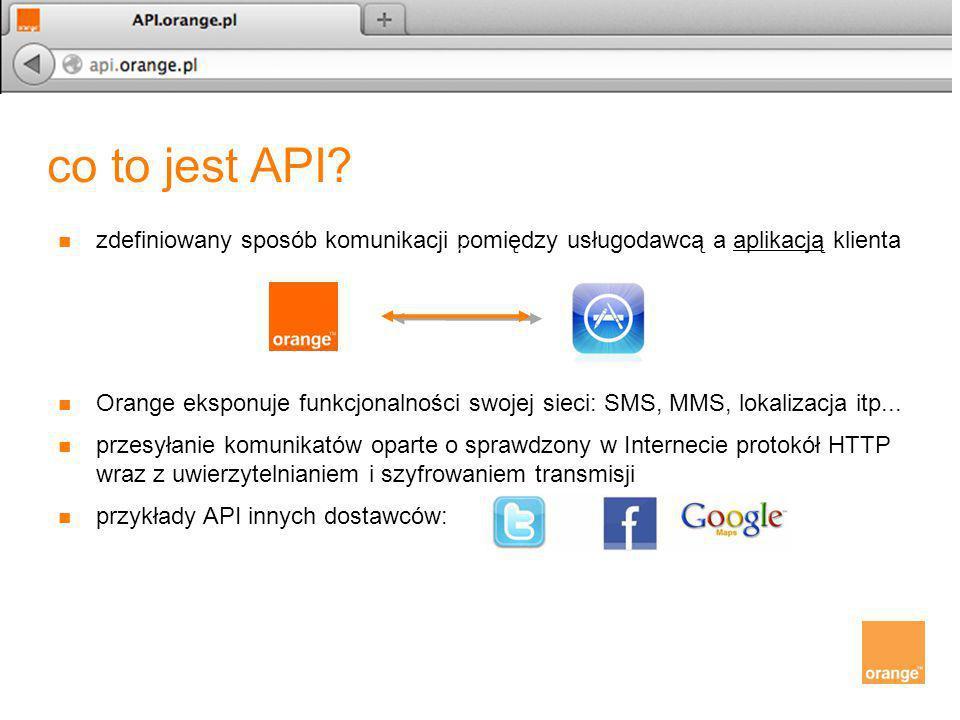 co to jest API zdefiniowany sposób komunikacji pomiędzy usługodawcą a aplikacją klienta.