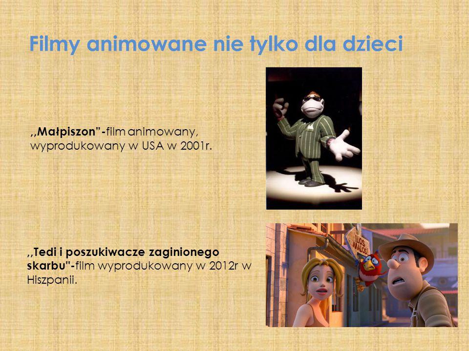 Filmy animowane nie tylko dla dzieci