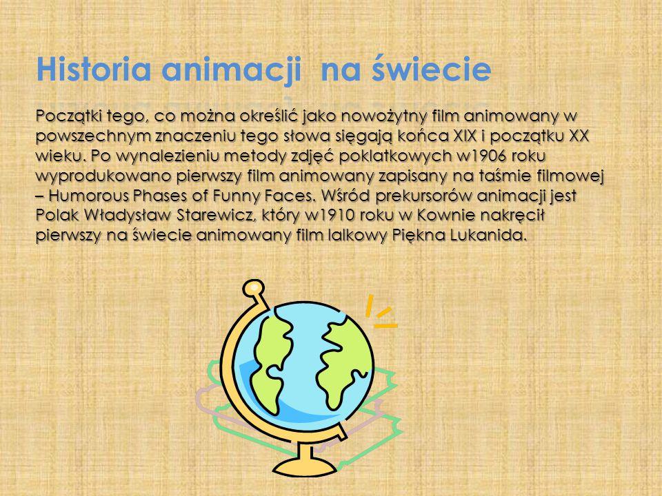 Historia animacji na świecie