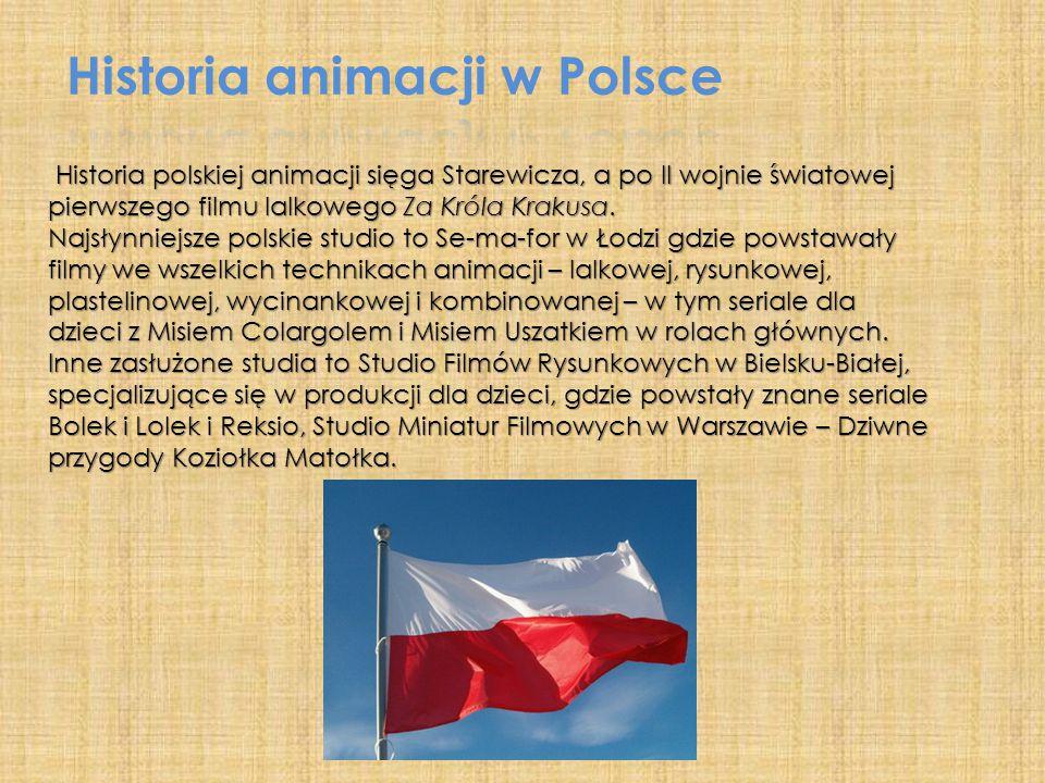 Historia animacji w Polsce