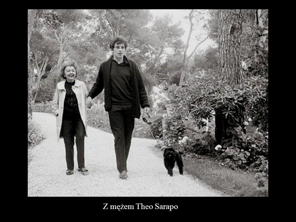 Z mężem Theo Sarapo
