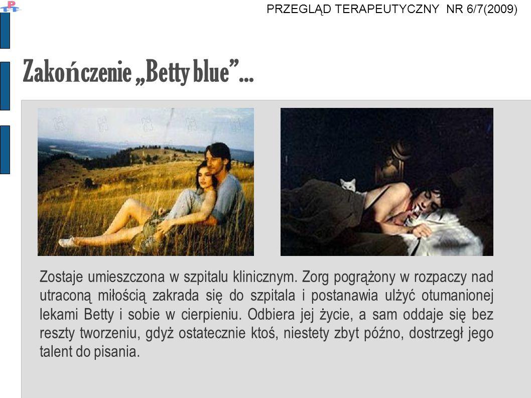 """Zakończenie """"Betty blue ..."""