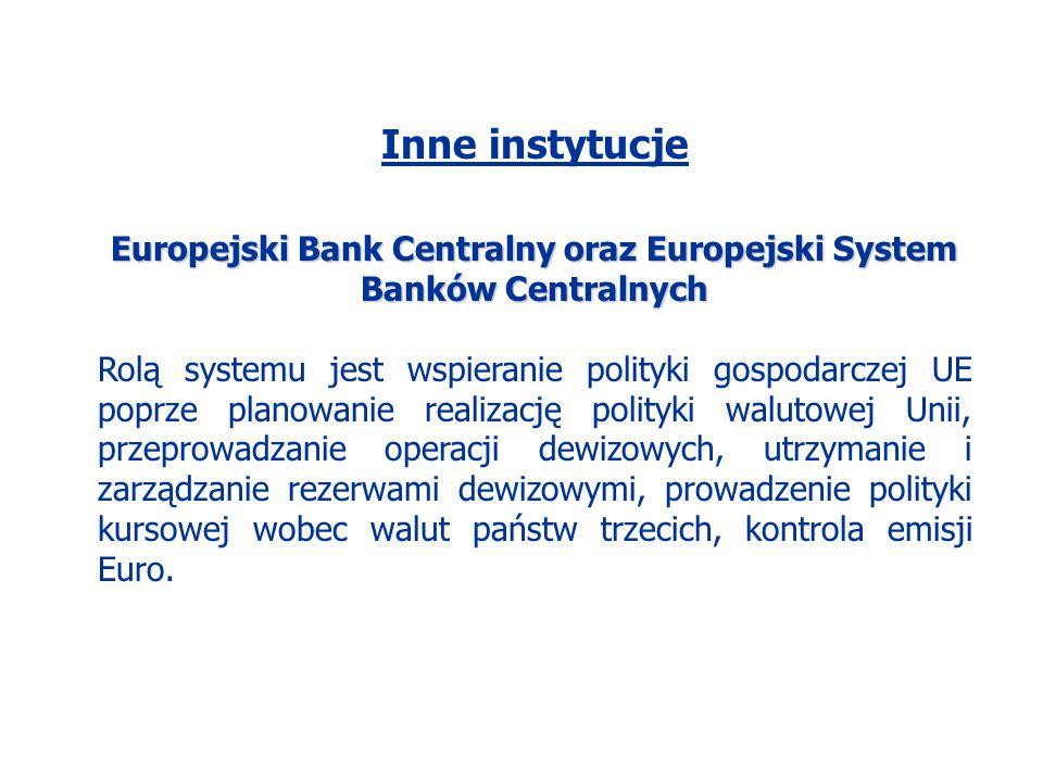 Europejski Bank Centralny oraz Europejski System Banków Centralnych