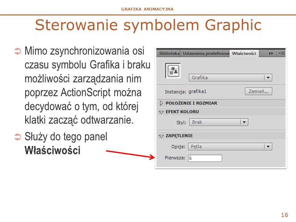 Sterowanie symbolem Graphic
