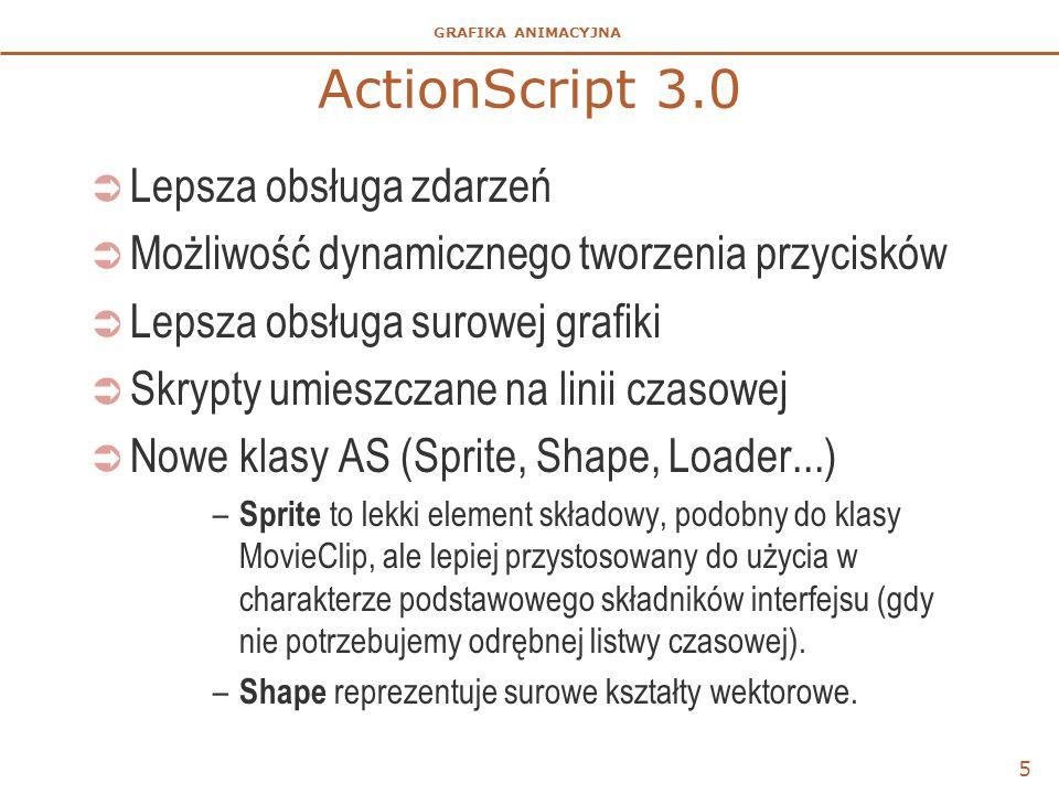 ActionScript 3.0 Lepsza obsługa zdarzeń