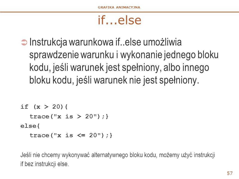 if...else