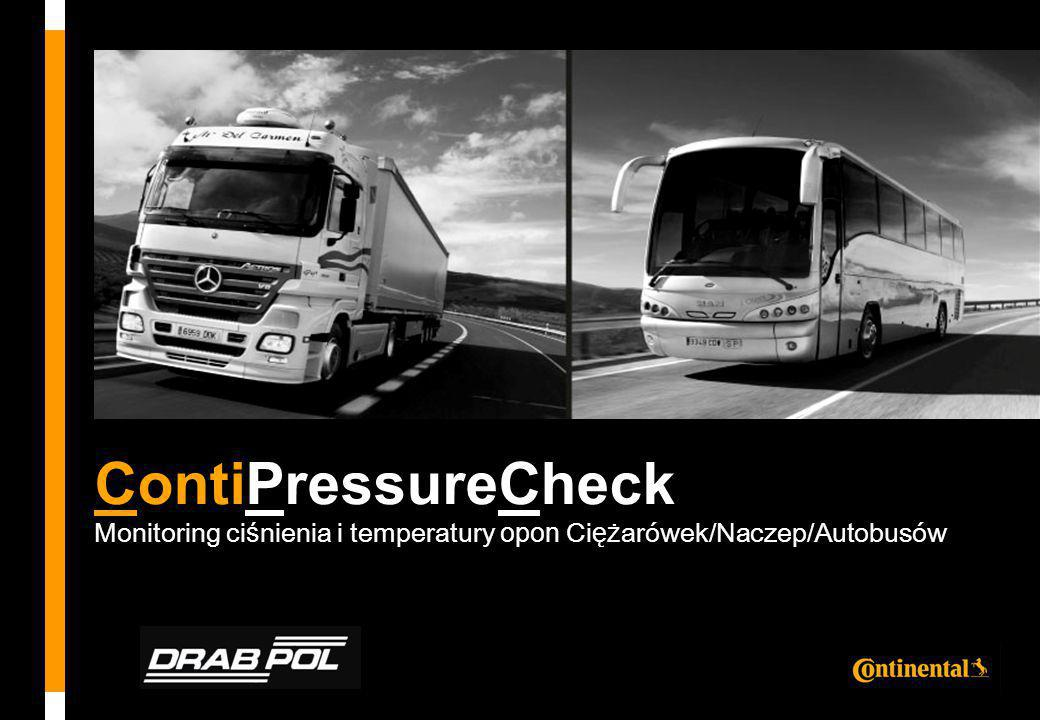 ContiPressureCheck Monitoring ciśnienia i temperatury opon Ciężarówek/Naczep/Autobusów.