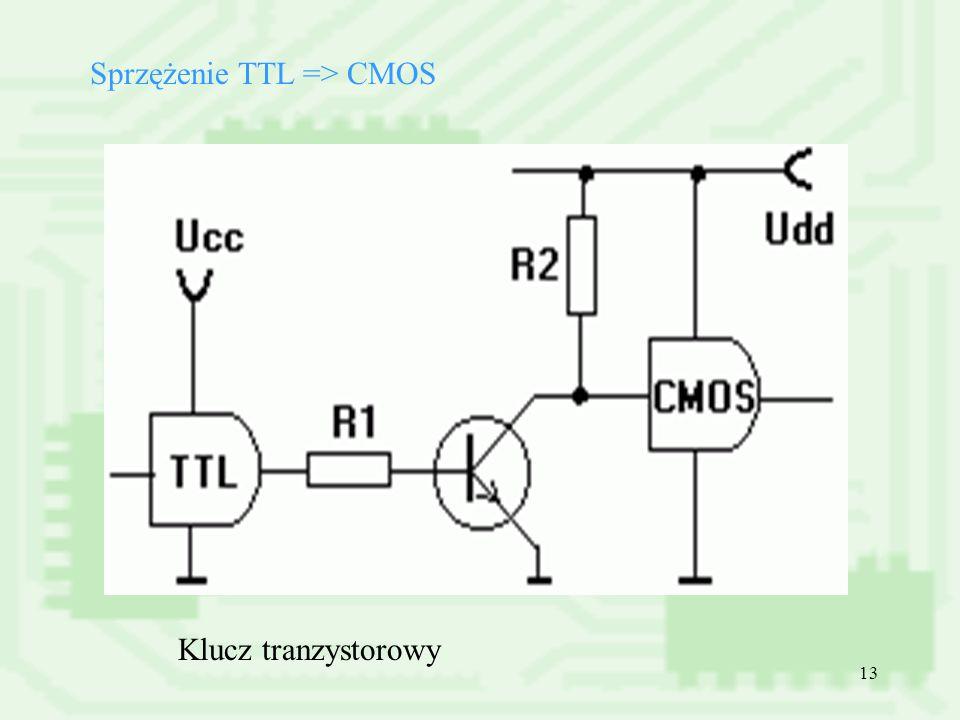 Sprzężenie TTL => CMOS