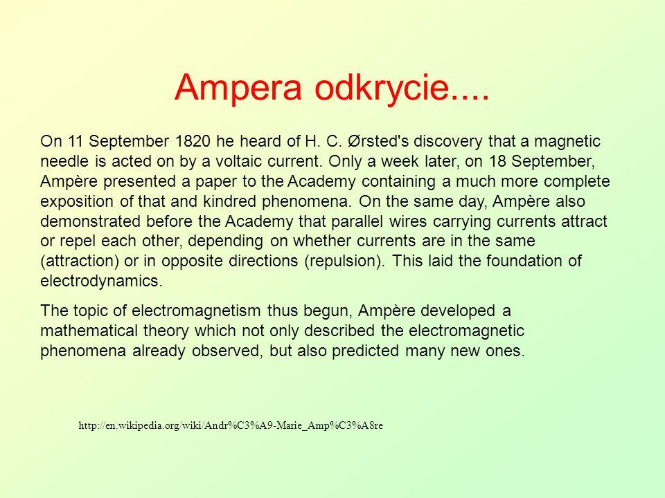 Ampera odkrycie....
