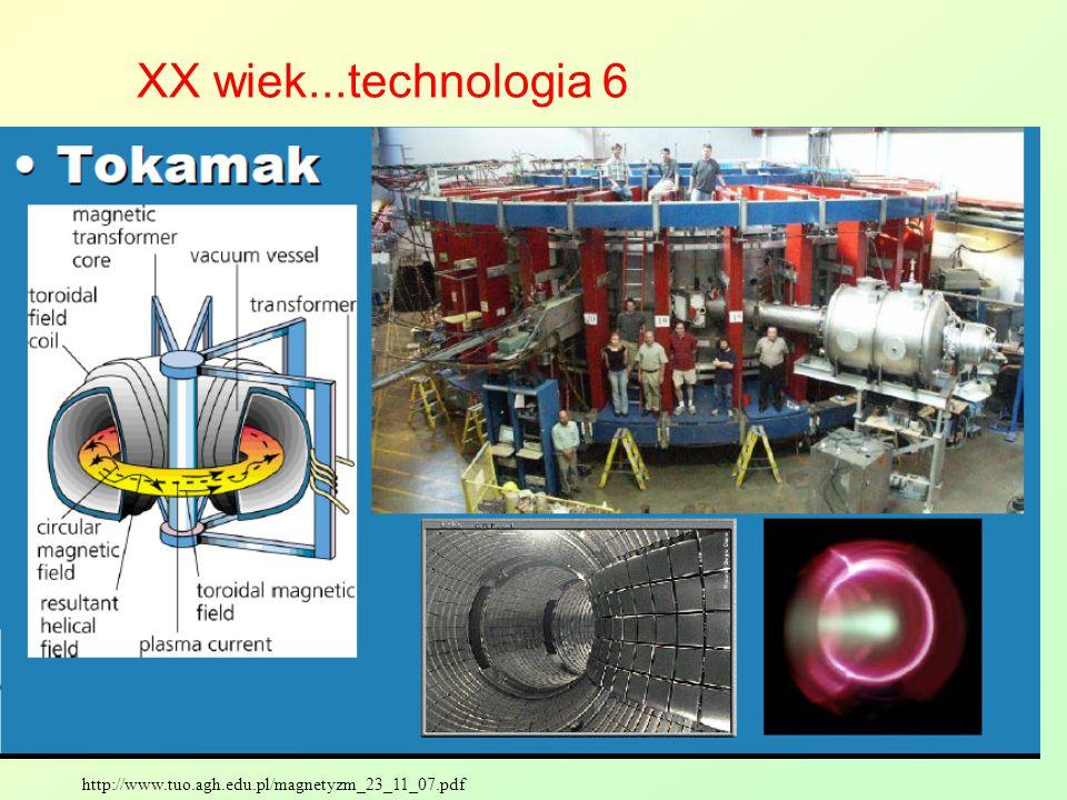 XX wiek...technologia 6 http://www.tuo.agh.edu.pl/magnetyzm_23_11_07.pdf