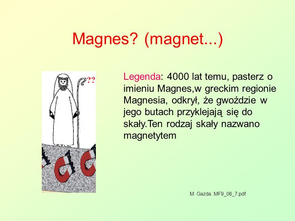 Magnes (magnet...)