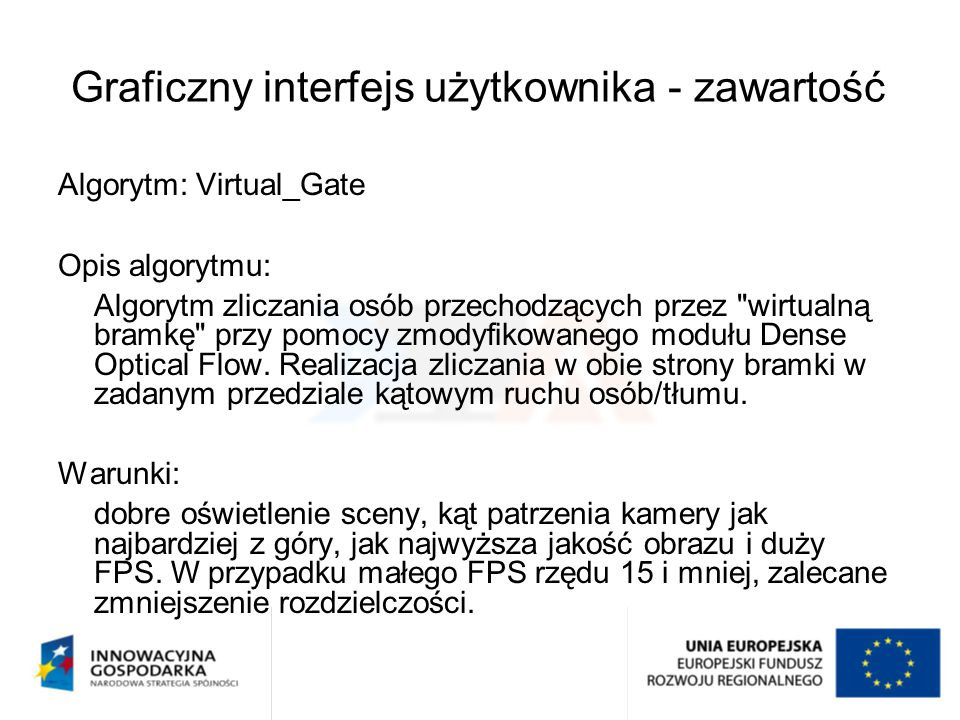Graficzny interfejs użytkownika - zawartość