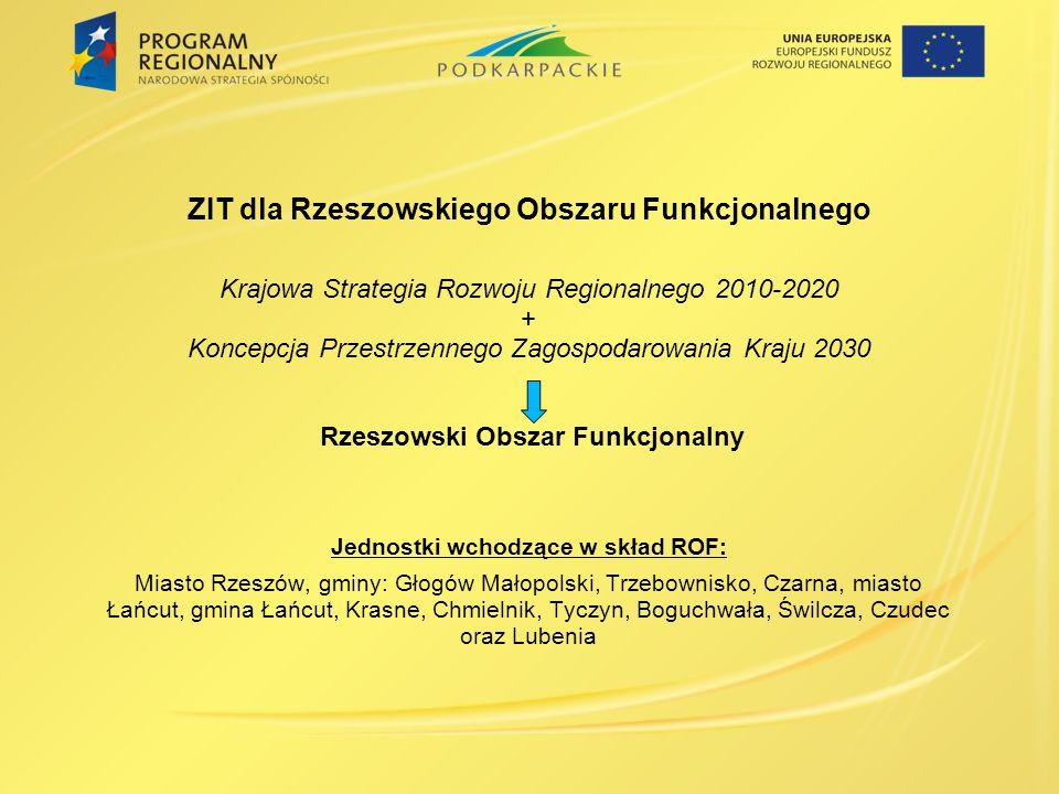 ZIT dla Rzeszowskiego Obszaru Funkcjonalnego