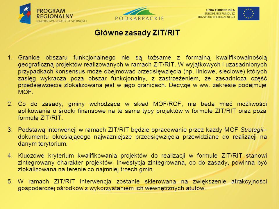 Główne zasady ZIT/RIT