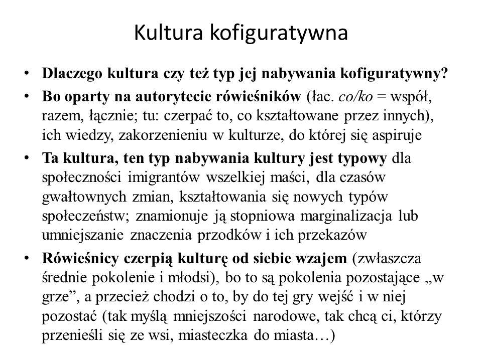 Kultura kofiguratywna