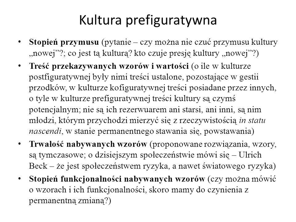 Kultura prefiguratywna