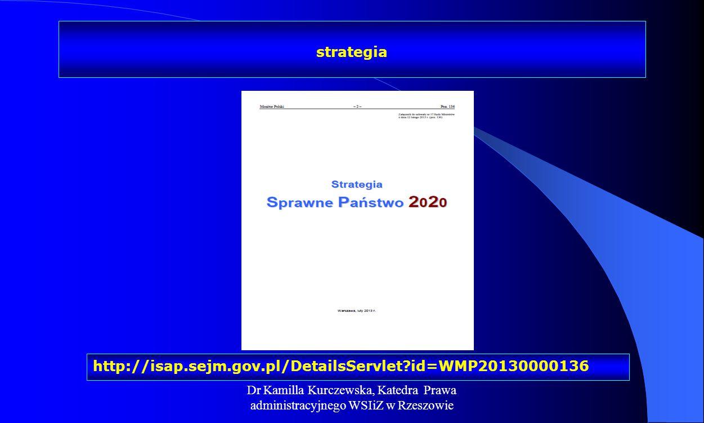 strategia http://isap.sejm.gov.pl/DetailsServlet id=WMP20130000136