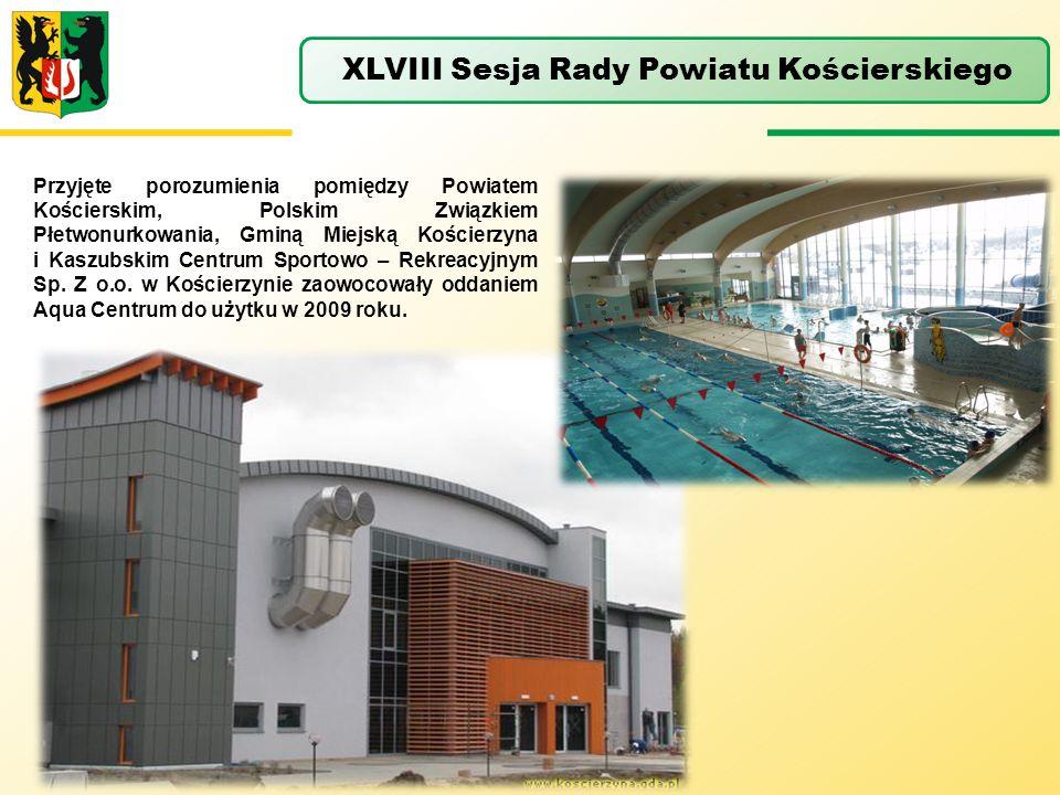 XLVIII Sesja Rady Powiatu Kościerskiego
