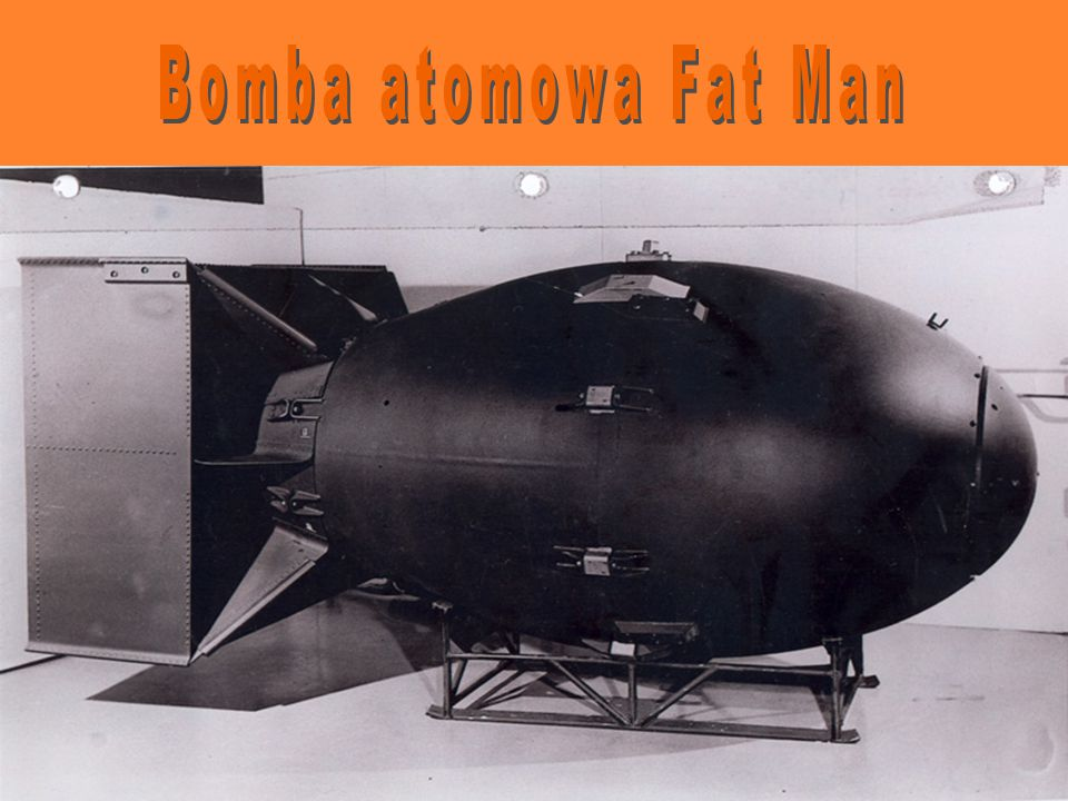 Bomba atomowa Fat Man