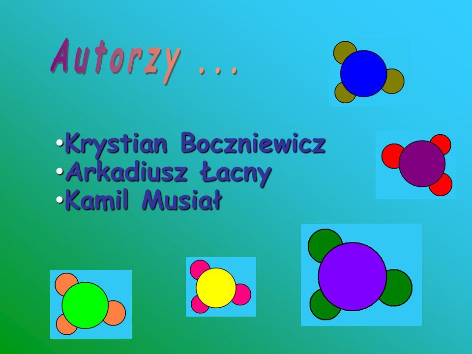 Autorzy ... Krystian Boczniewicz Arkadiusz Łacny Kamil Musiał