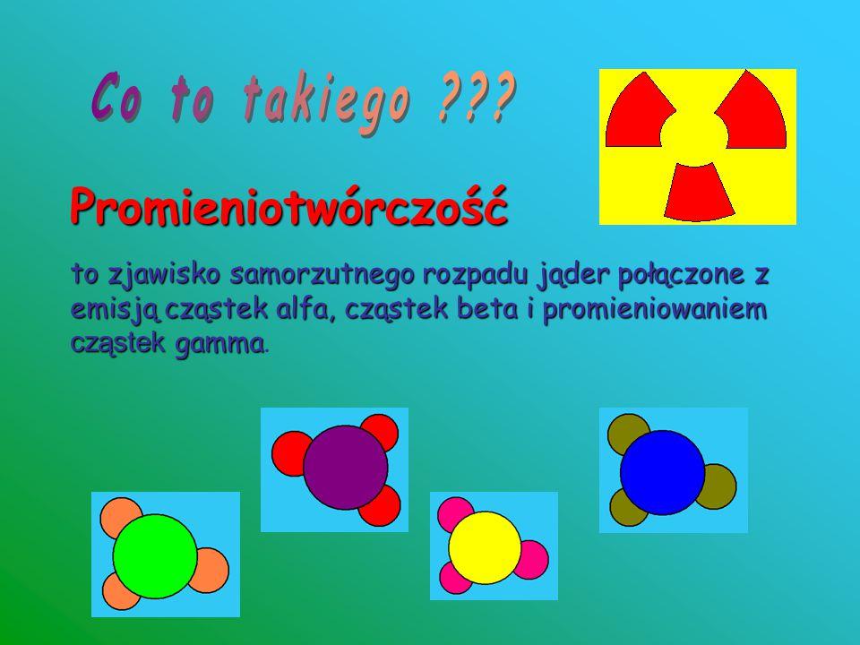 Co to takiego Promieniotwórczość