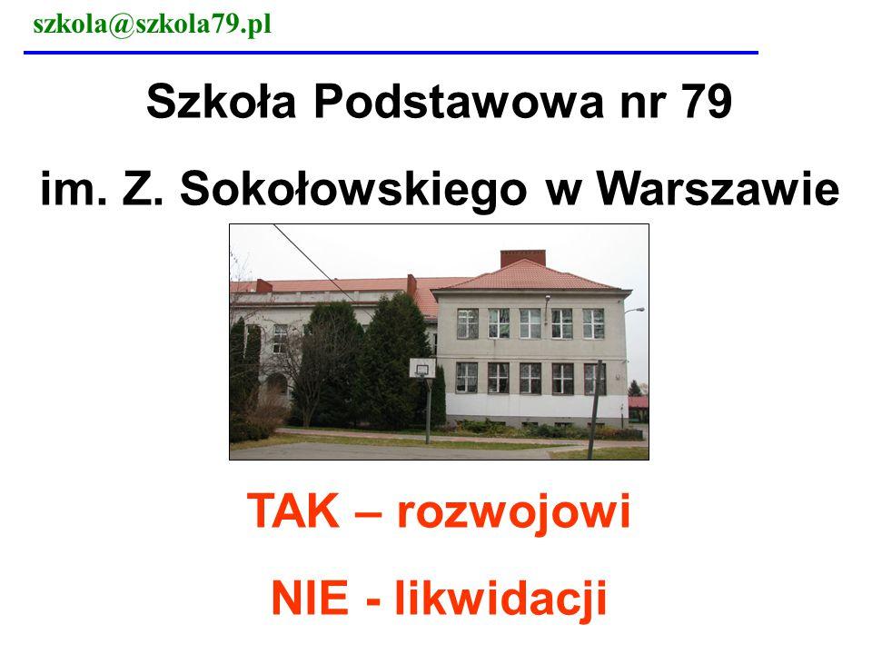 im. Z. Sokołowskiego w Warszawie