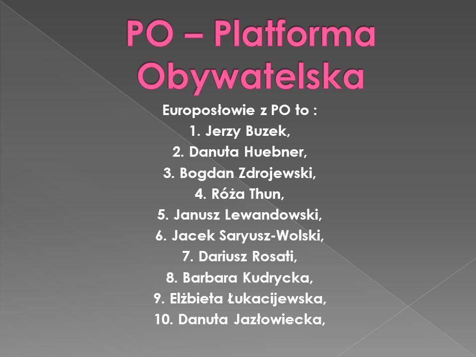 PO – Platforma Obywatelska