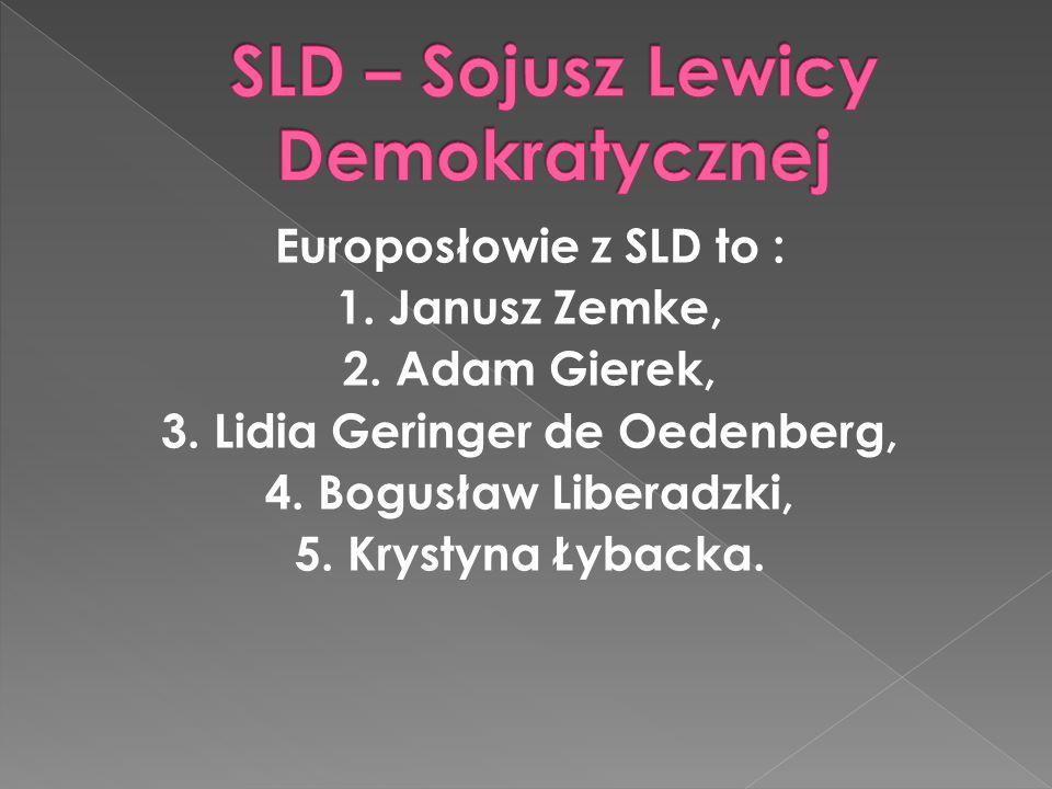 SLD – Sojusz Lewicy Demokratycznej