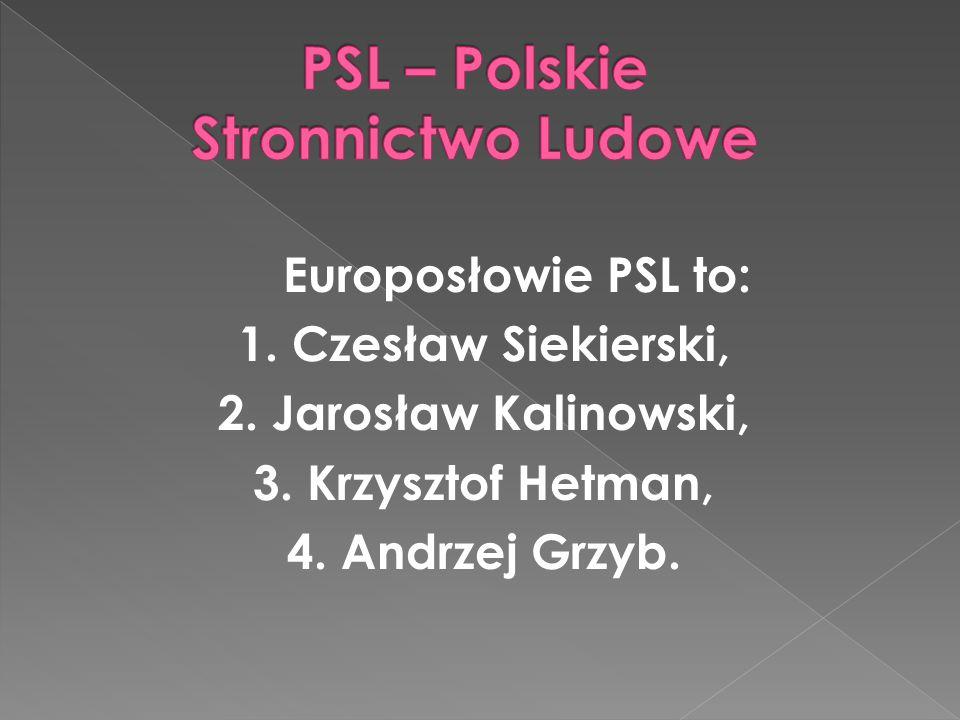 PSL – Polskie Stronnictwo Ludowe
