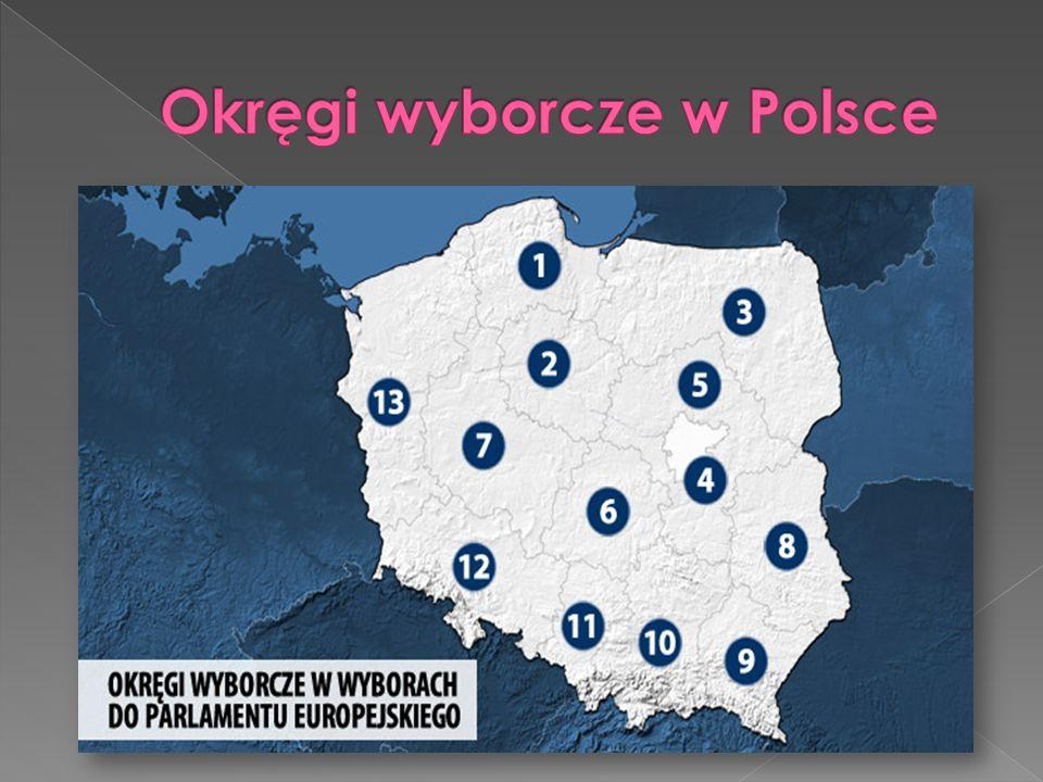 Okręgi wyborcze w Polsce